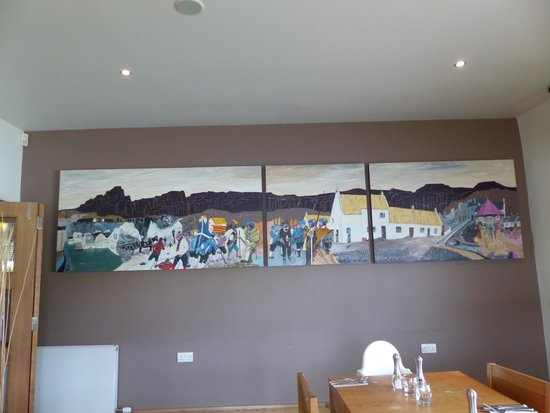 The Boathouse: The history of Kilsyth captured in conference room mural