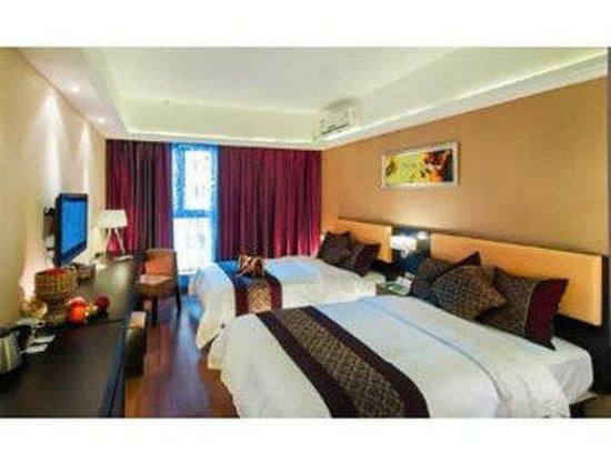 Super 8 Hotel Chengdu LI du Wei Gang: Two Twin Bed Room
