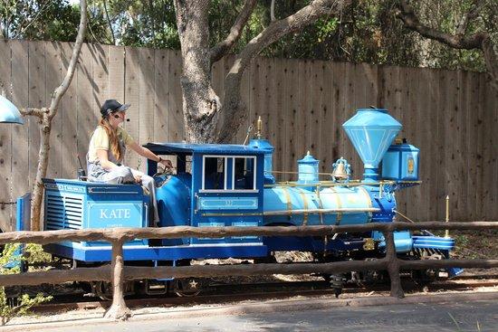 Santa Barbara Zoo: Train ride for the little tikes