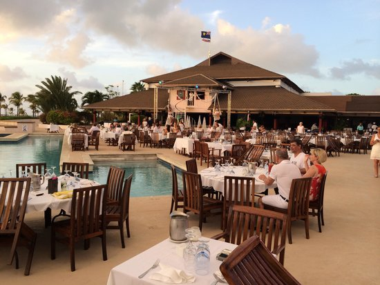 Club Med Turkoise, Turks & Caicos: special night outdoor dinner
