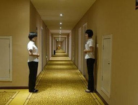 Super 8 Hotel Linyi Bus Terminal : Hallway