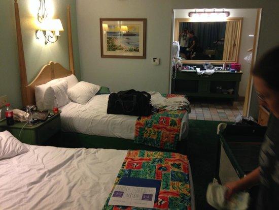 Disney's Caribbean Beach Resort : room