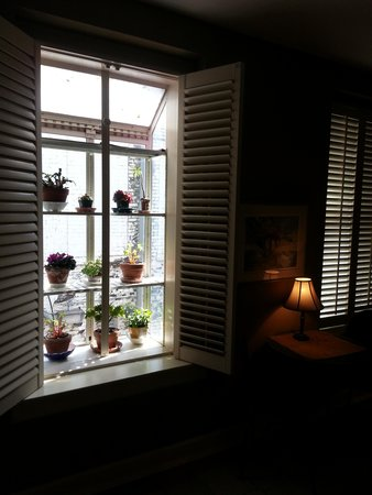 Talbot Heirs Guesthouse: Window in Living room
