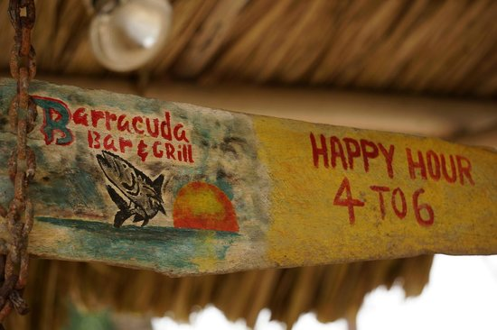 Beaches And Dreams: Be sure to dine at The Barracuda Bar & Grill