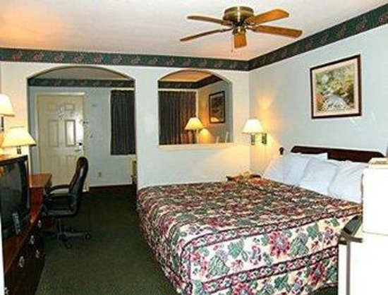 Days Inn El Campo, TX: 1 King Bed Guest Room