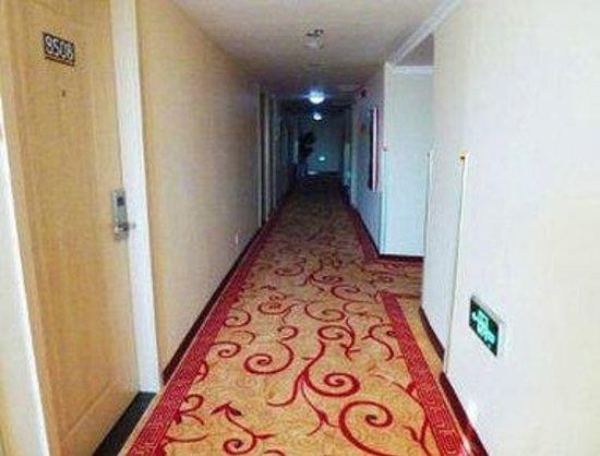 Super 8 Hotel Shenyang Gu Gong: Hallway