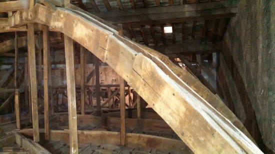 Relais Santa Croce: internal structure of roof