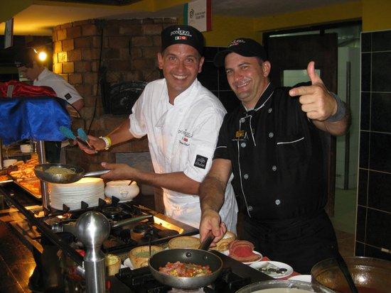 Hotel Bella Costa: Famous Toronto Italian Restaurant, Posticino, provided the pasta bar and much more of Italian Cu