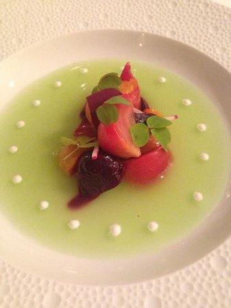 Tru: beet salad