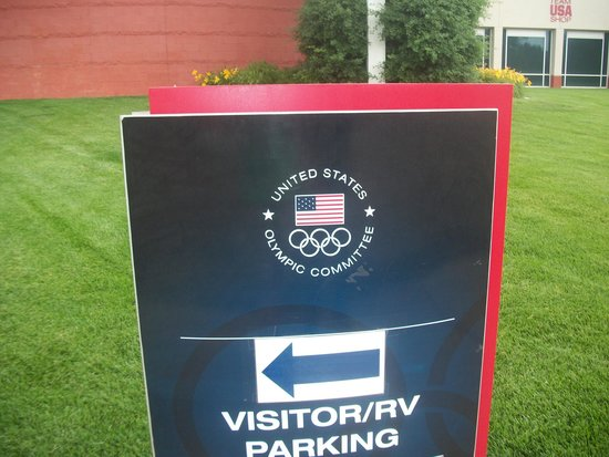 Olympic Training Center: Parking is free too