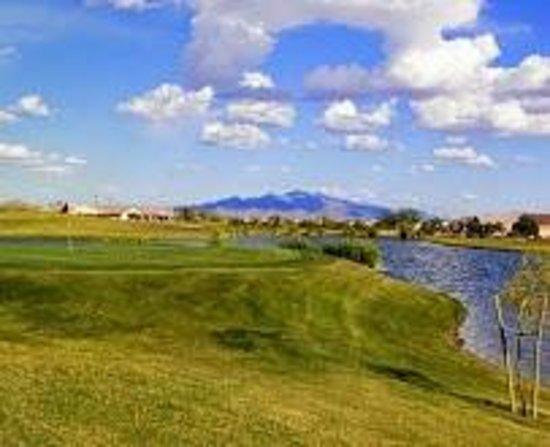 Sundance Golf Club: par 3 water hole,...I found it twice !
