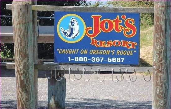 Jot's Resort: Frontsign