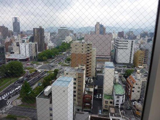 Oriental Hotel Hiroshima: 市内の眺め