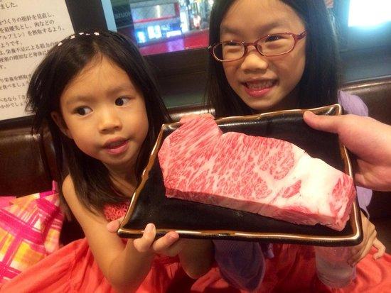 Steak House Satou : Fantastic Matsusaka beef