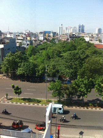 Red Planet Jakarta Pasar Baru: View from hotel room