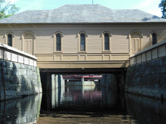 Lowell National Historical Park: Canal Lock