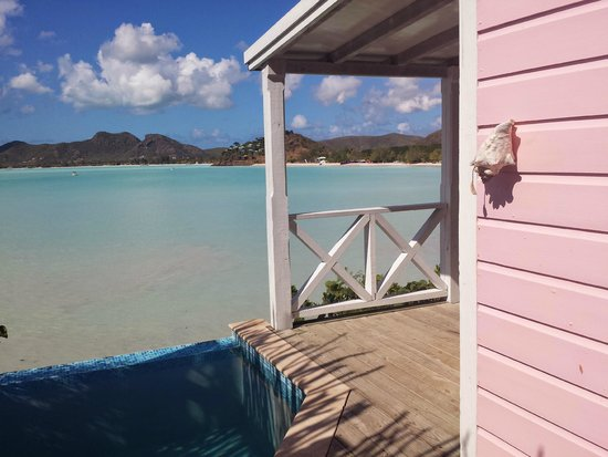 Cocobay Resort: as you walk in...the view!!!!