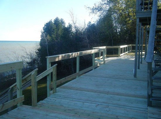 at the Waters Edge: Deck