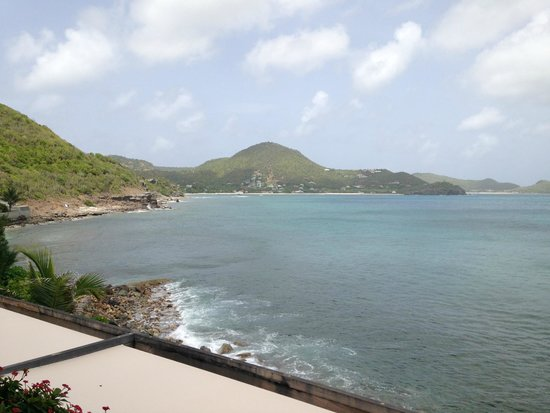 Christopher St Barth: view from room