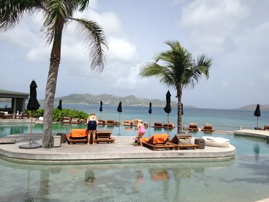 Christopher St Barth : best pool on the island