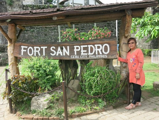 Marco Polo Plaza Cebu: Fort San Pedro. worth the visit