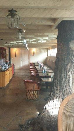 Las Palomas Inn Santa Fe : Breakfast area