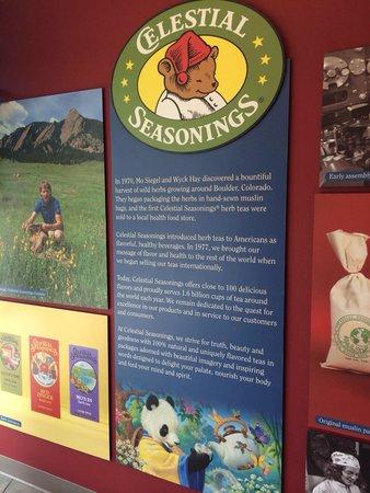 Celestial Seasonings Tea Factory: Great story