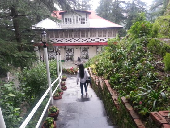 Shimla British Resort: Natural surroundigs