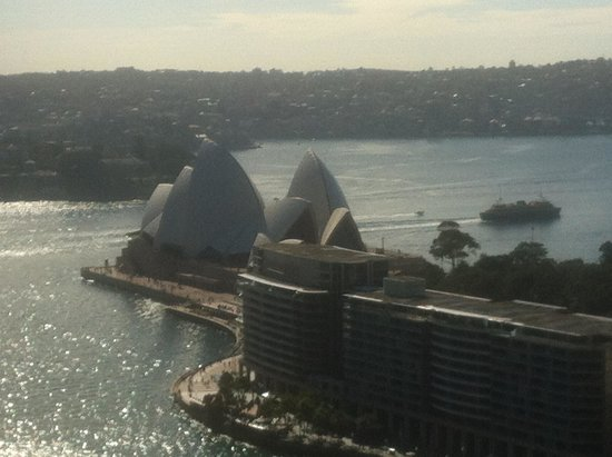 Sydney Harbour Marriott Hotel at Circular Quay : View From the 31st Floor