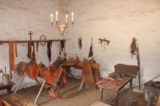 La Purisima State Historical Park : Saddle workshop