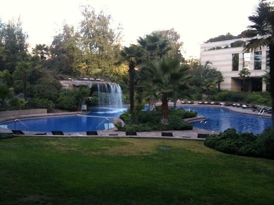 Hotel Santiago: Gorgeous pool area