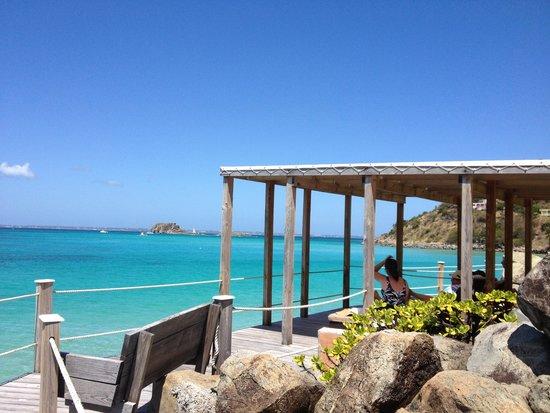 Grand Case Beach Club: View.