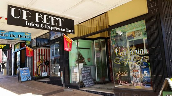 Up Beet Juice & Espresso: Katoomba Up Beet Juice Espresso Bar