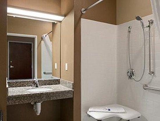 Microtel Inn & Suites by Wyndham Steubenville: ADA Bathroom