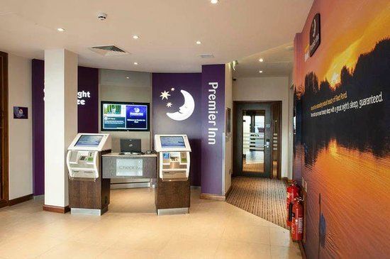 Premier Inn Fleet Hotel: Reception