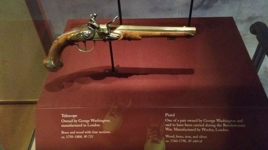 George Washington's Mount Vernon: One of George's pistols