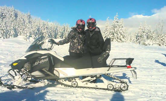The Marquise: Snow Mobile Tour