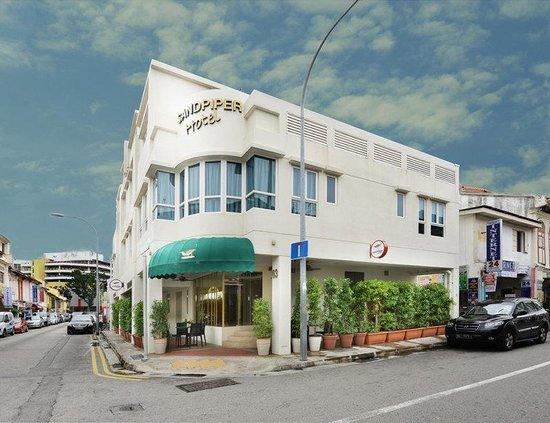 Sandpiper Hotel Singapore : External