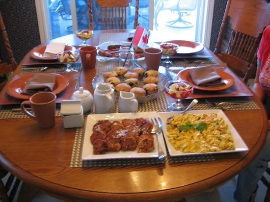 A & S Lakeview Bed & Breakfast: Frühstück vom Feinsten
