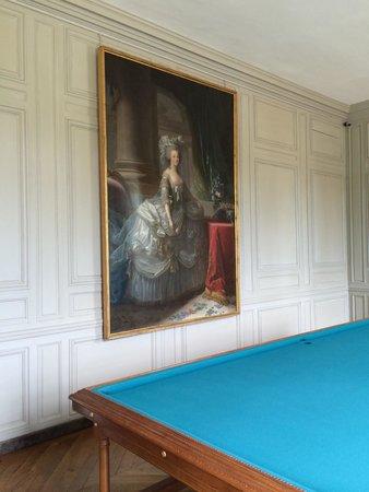 Château de Versailles : billiards room