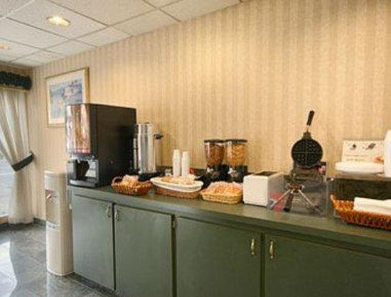 Howard Johnson San Francisco Marina District: Breakfast Area