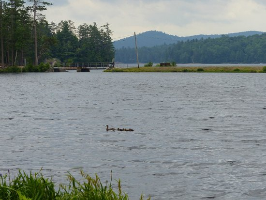 Adirondack Hotel on Long Lake: View of the mountains