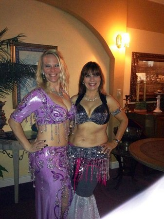 Kabob House: belly dance on Friday night