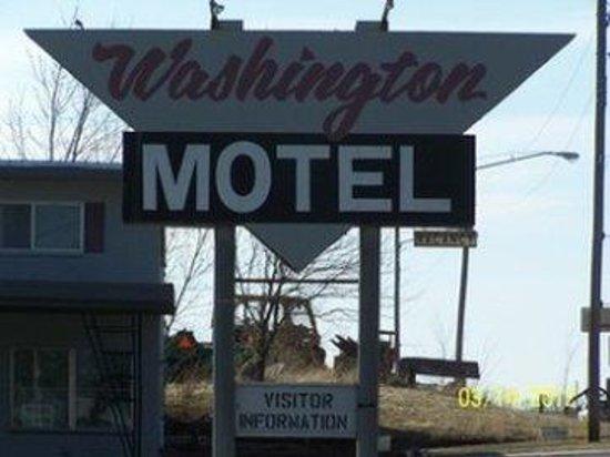 Washington Hotel: Sign