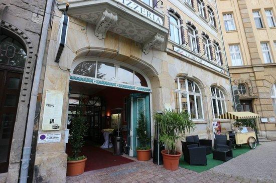 Restaurant Michelangelo: Eingang