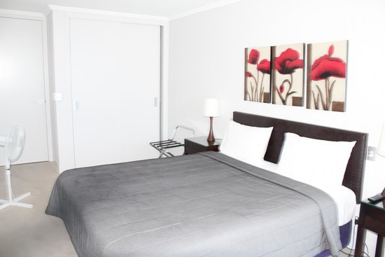 Sacred Waters Taupo Luxury Apartments: bedroom