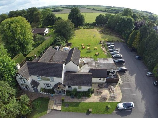 The Crown At Broad Hinton: A Bird's Eye View