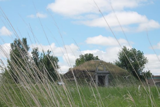 Knife River Indian Villages Historic Site: Earth Lodge Reconstruction