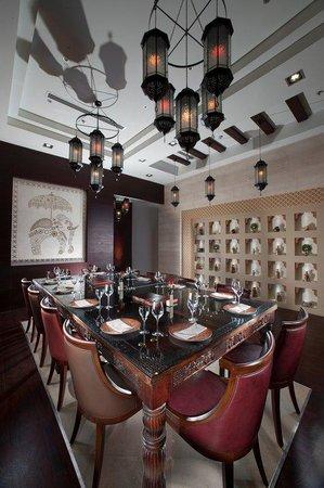 Ramee Grand Hotel & Spa: Rasoi  pvt dining room