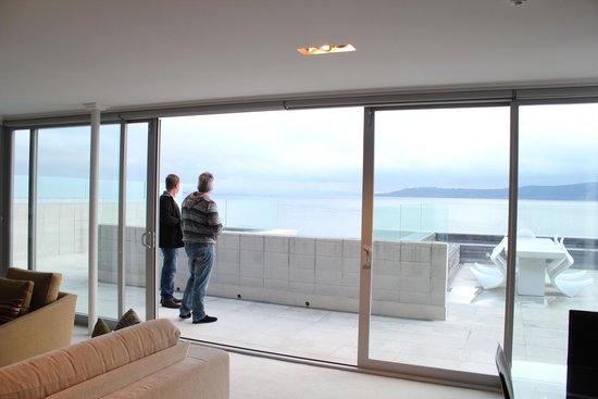 Sacred Waters Taupo Luxury Apartments: Looking from Inside to Out